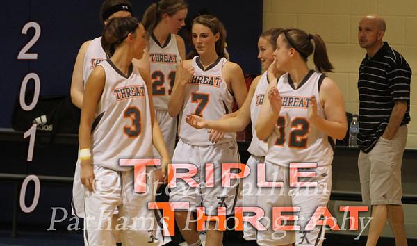 Triple Threat Ladies Basketball